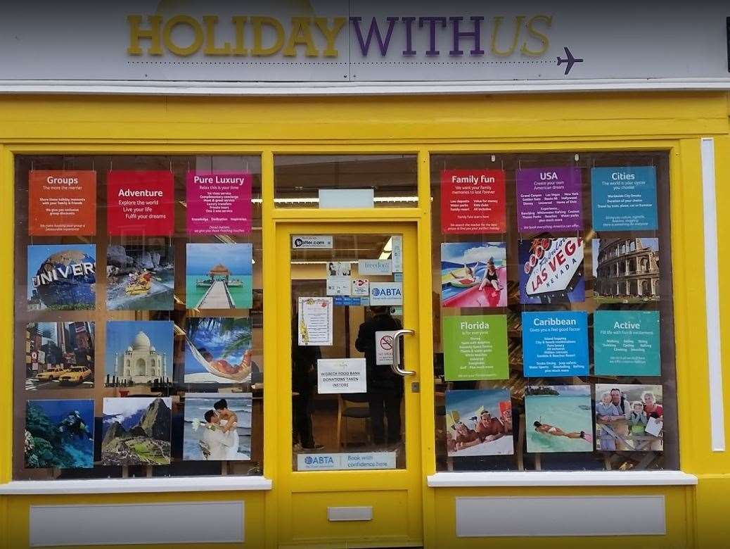 Holiday With Us, which has shops in Wisbech and March, is collecting for 50 Backpacks charity. (22462380)