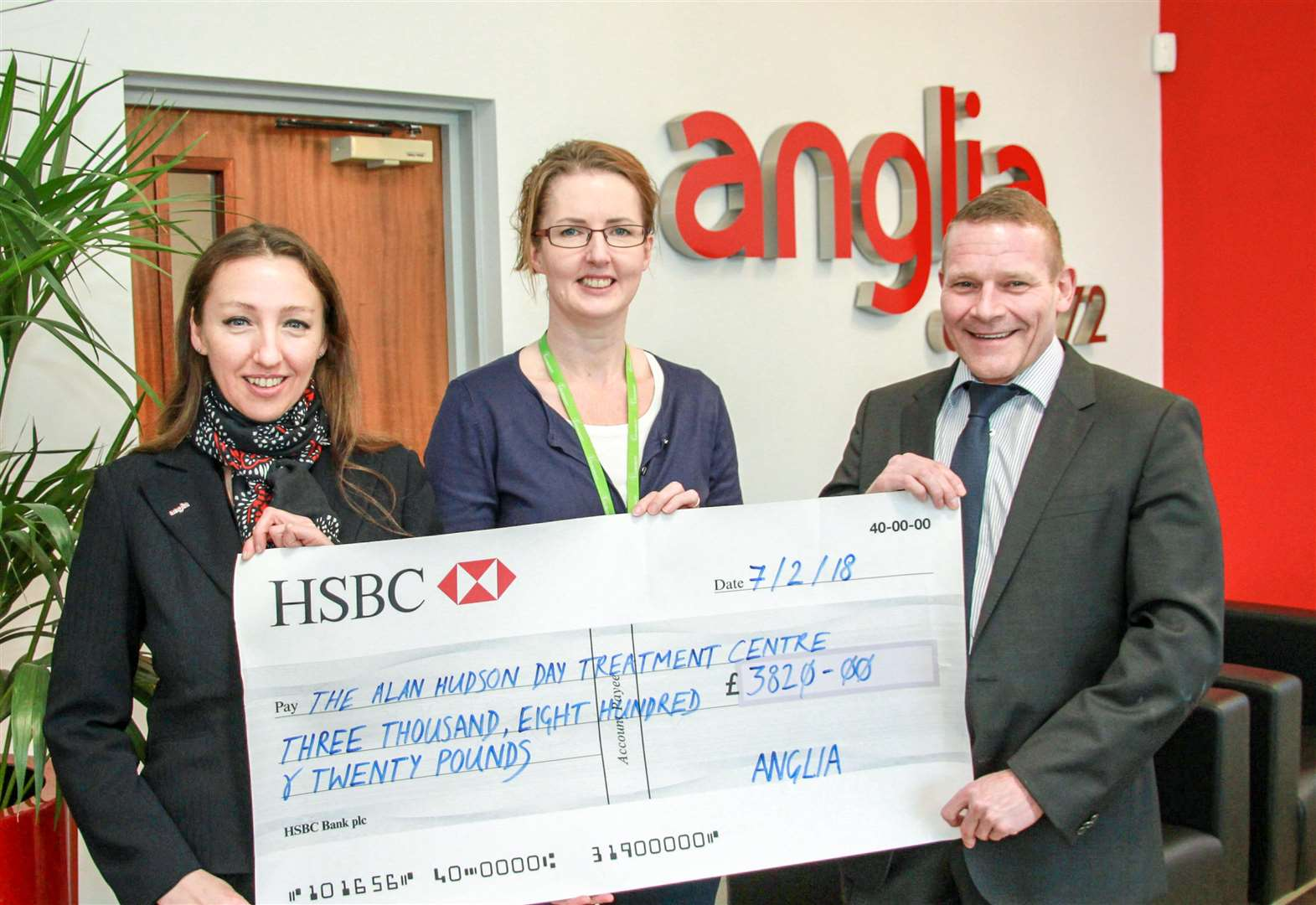 Wisbech firm Anglia Components gives £4,000 each to two charities