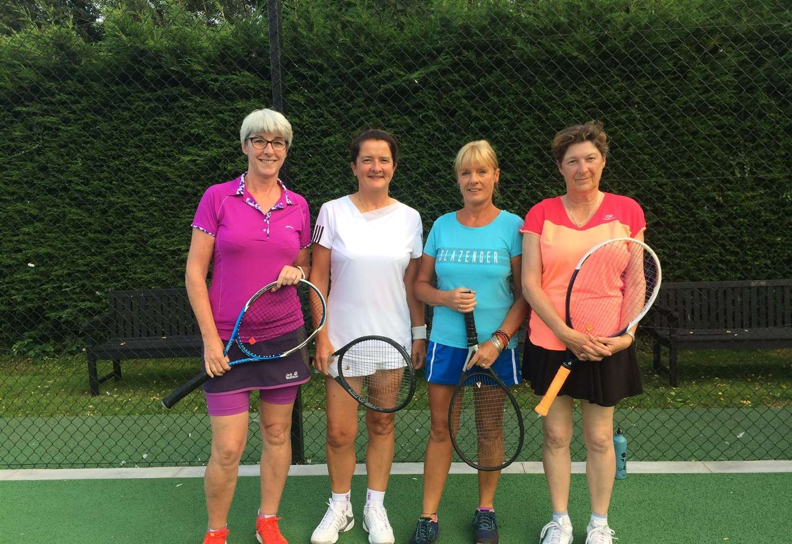 Tennis: Wisbech season ends with title