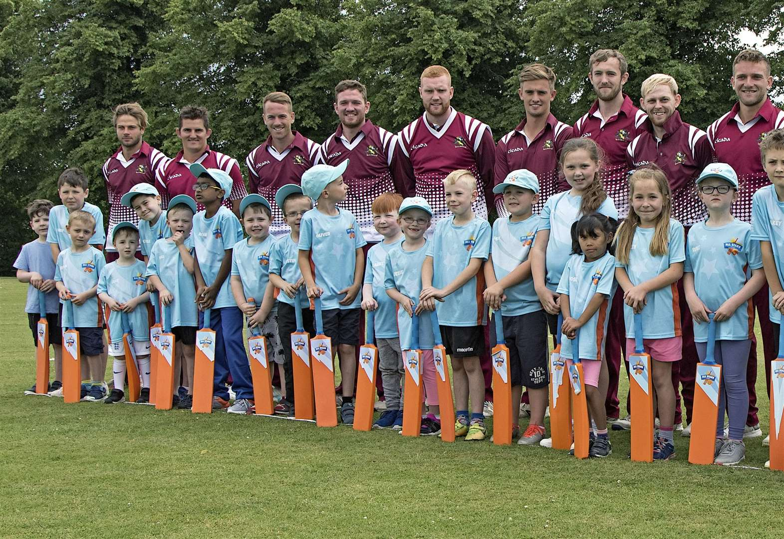 All Stars Cricket children show skills at March