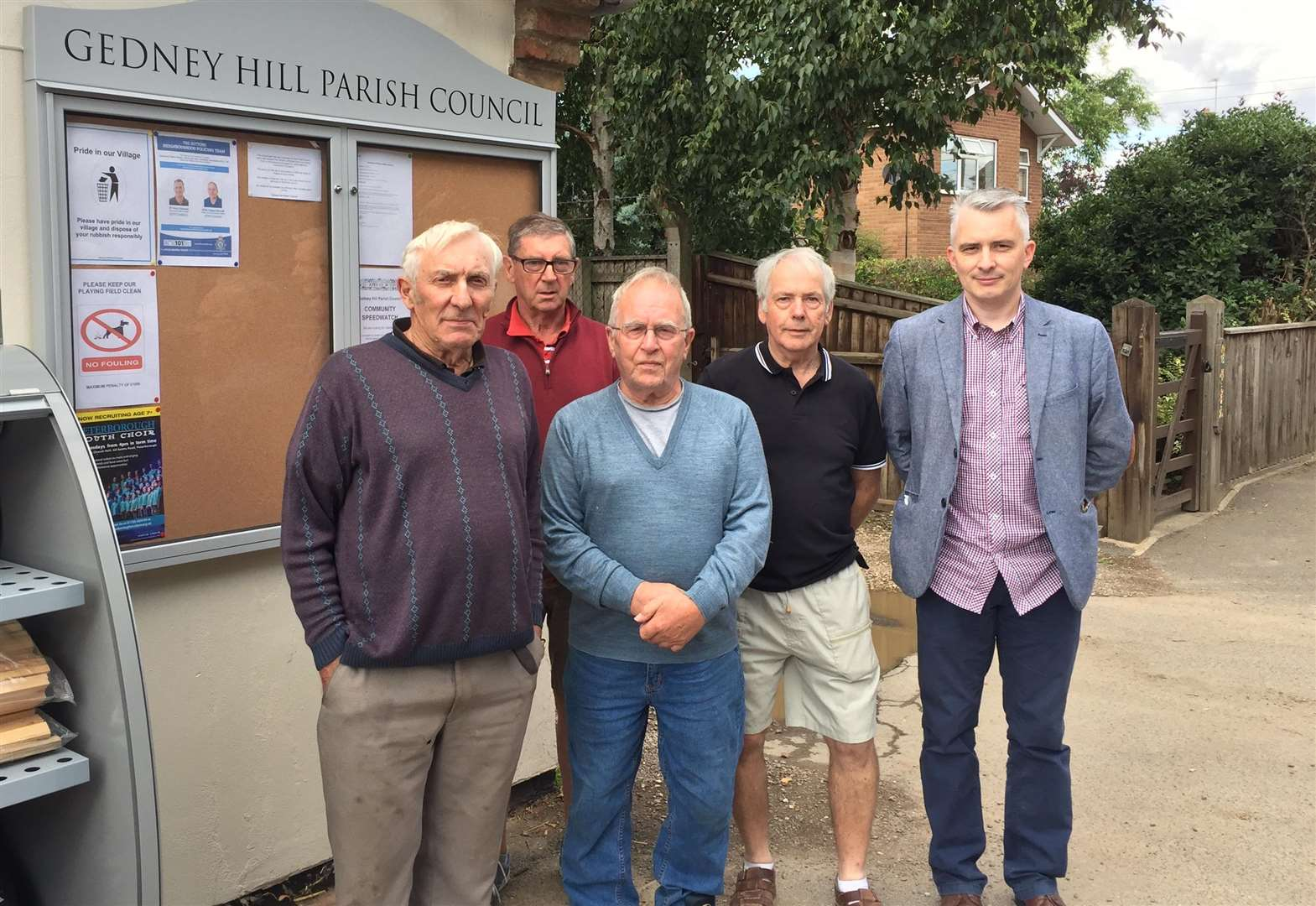 GEDNEY HILL PARISH COUNCIL: Village faces long wait for answer on sewerage system