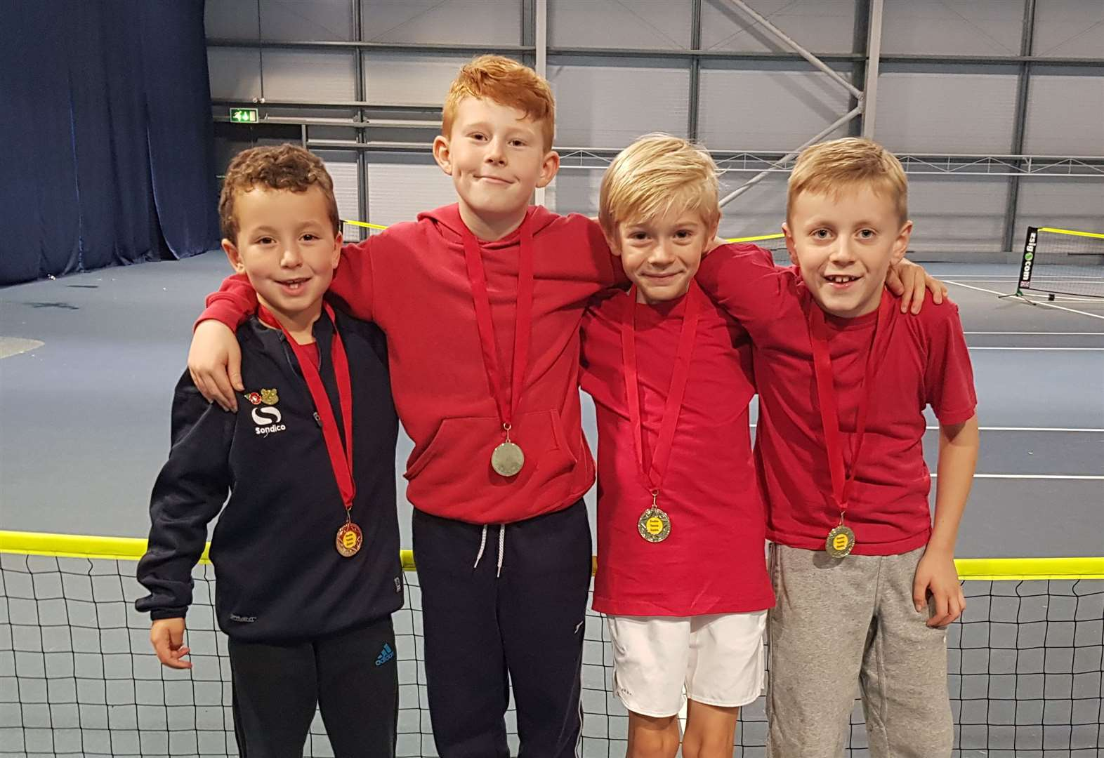 Tennis: LK Clarkson Academy team brings home gold