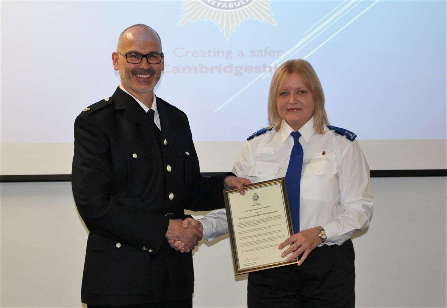 Police Community Support Officers Commended For Work To Catch Violent Man In Wisbech