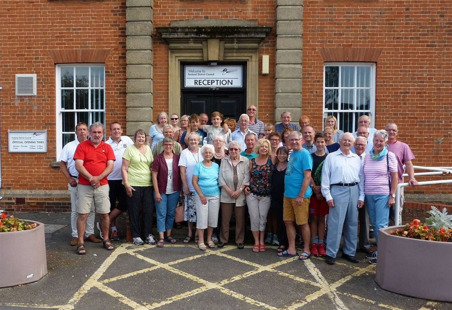 Twinning group's AGM and tea party