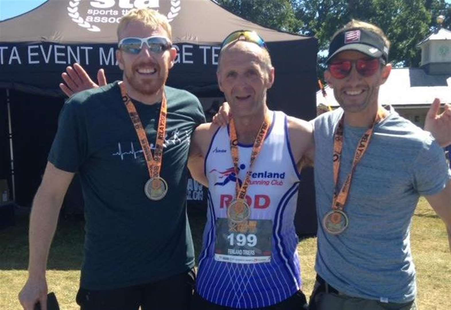 Fenland Running Club take on Holkham Half Ironman, Triathlon and fun run