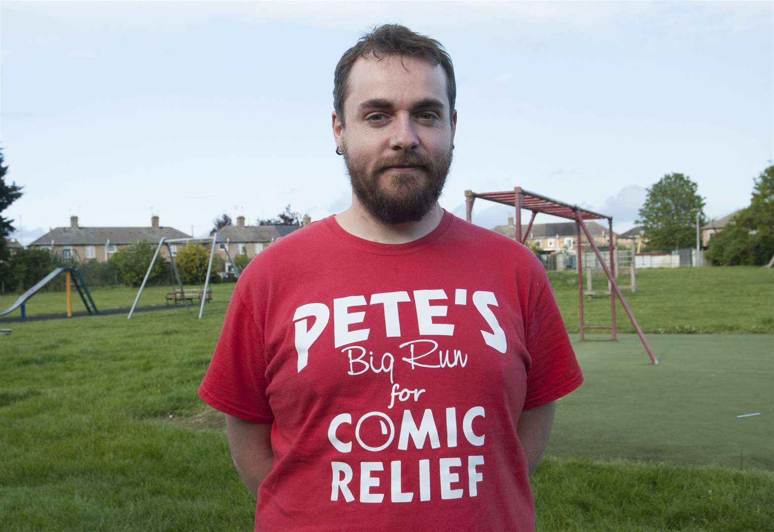 Pete's pounding the street for Comic Relief