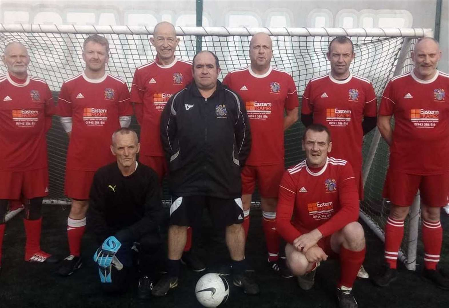 Walking Football: friendly warm-ups versus top side