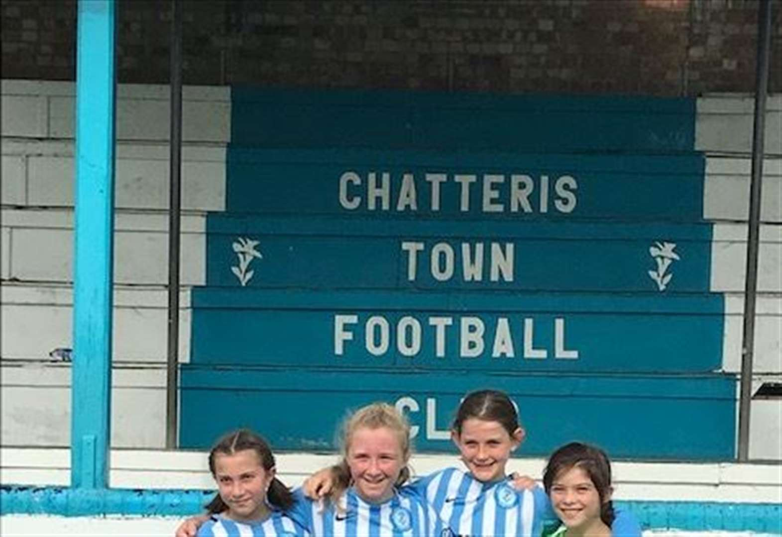 Football: New Chatteris Town girls' side build kit sponsor