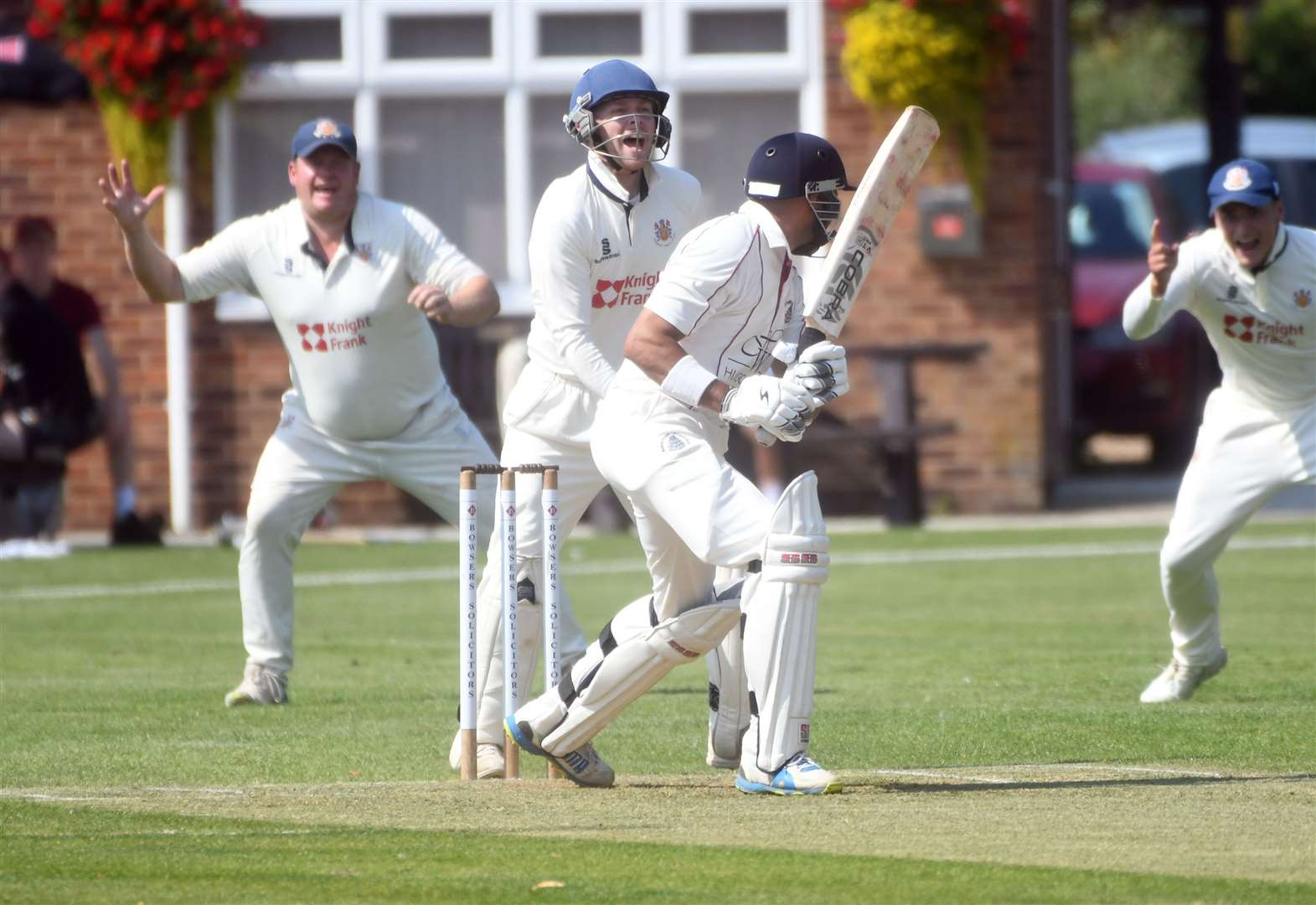 Cricket: Great Scott as Seconds tie match