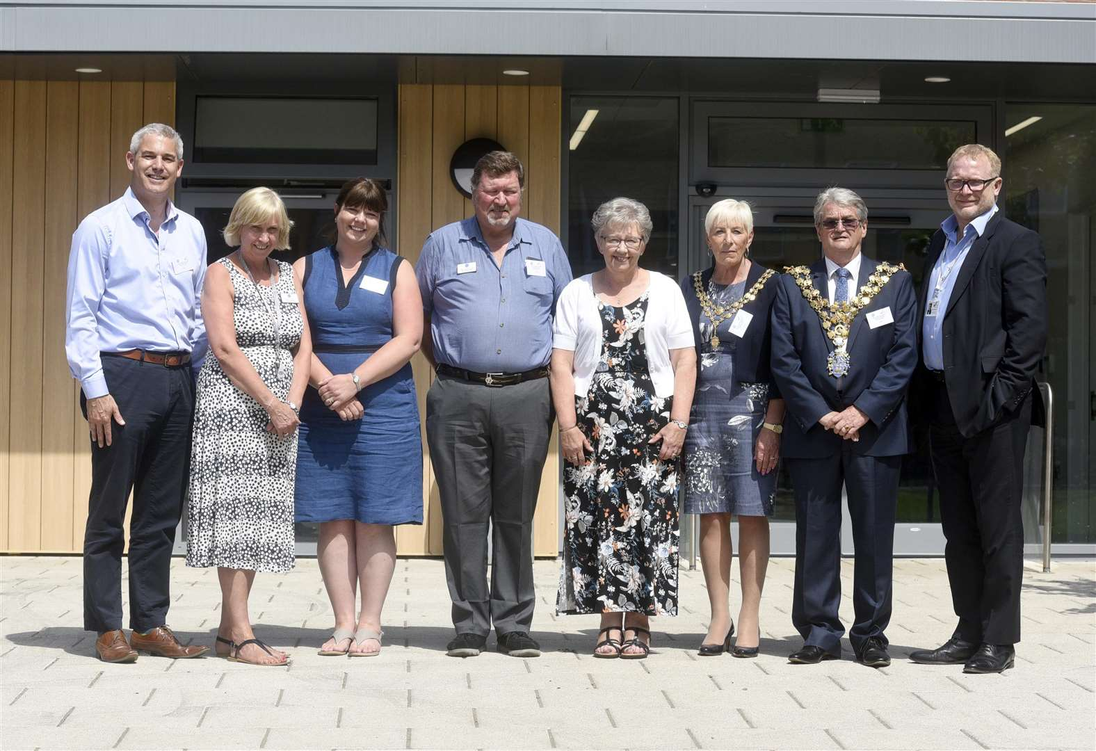 VIP day as Nene and Ramnoth school in Wisbech celebrates official opening of phase one of new extension