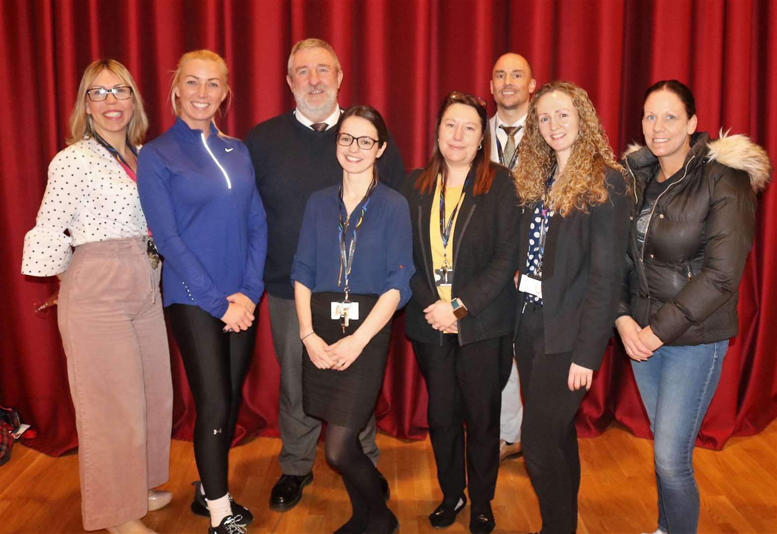 Staff at Wisbech's Thomas Clarkson Academy celebrate its 'Good' Ofsted judgement
