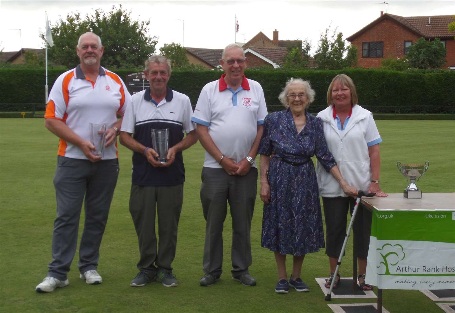 CMB bowls Les Howard Memorial Trophy raises funds for Alan Hudson Day Treatment Centre in Wisbech