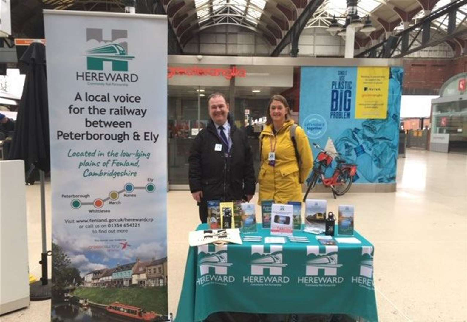 Local community group to champion Fenland's Hereward Line at nationwide rail event