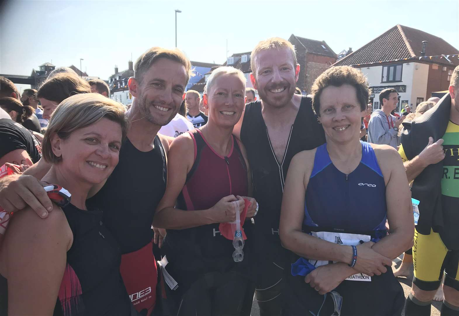 Fenland Running Club follow home Follen as Wisbech members conquer coastal triathlon