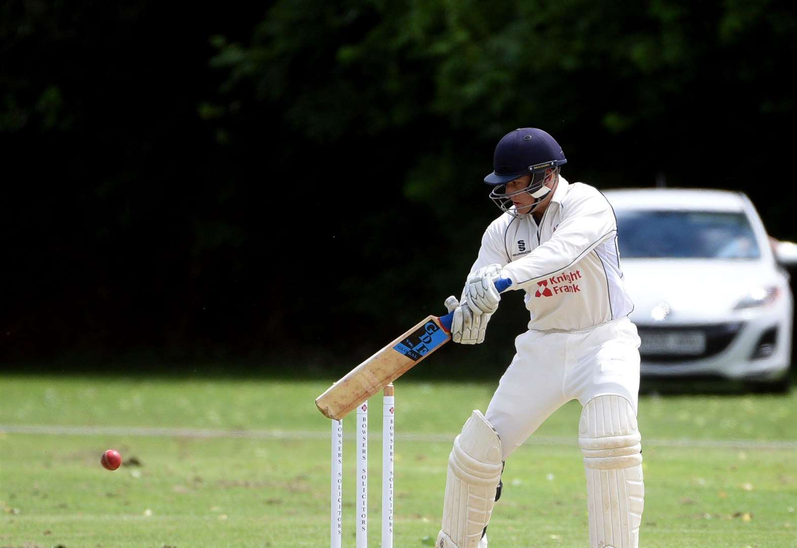 Cricket: Sunday ton rescues Wisbech against Oundle