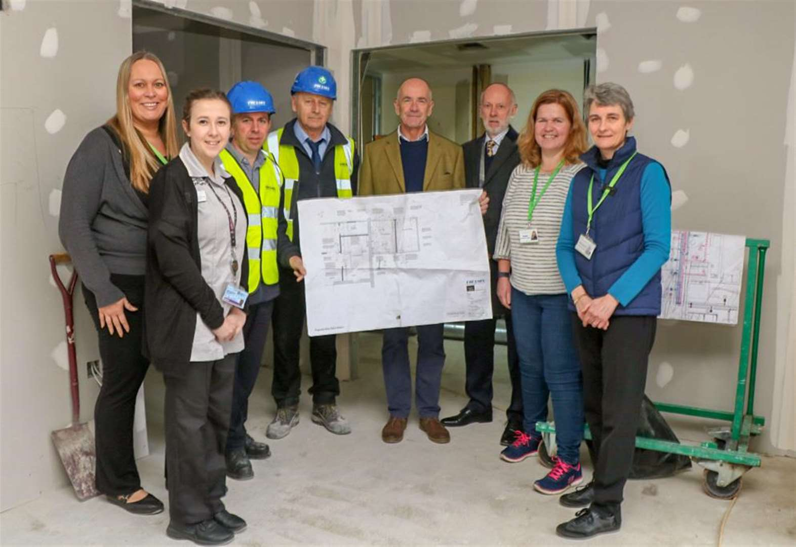 Building works start at Alan Hudson Day Treatment Centre in Wisbech