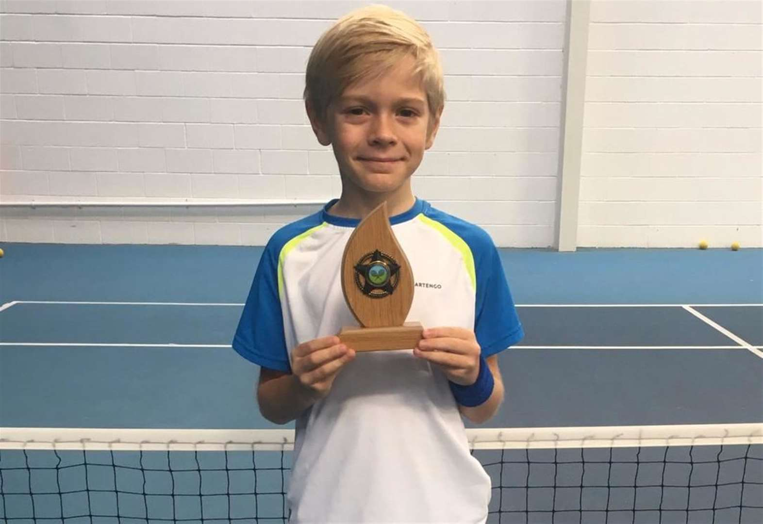 Tennis: Mighty Maxton wins tournament for youngsters