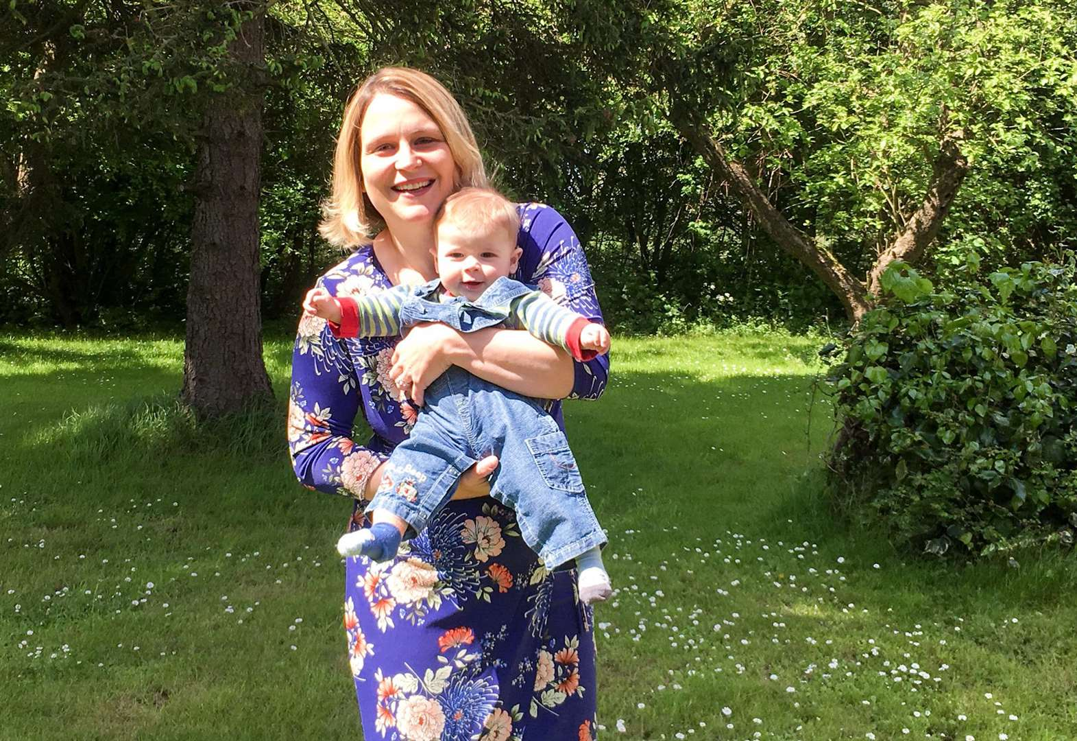Baby Walter Olney from Manea and his family write to Prime Minister Theresa May to call for precision medicines to be available on the NHS