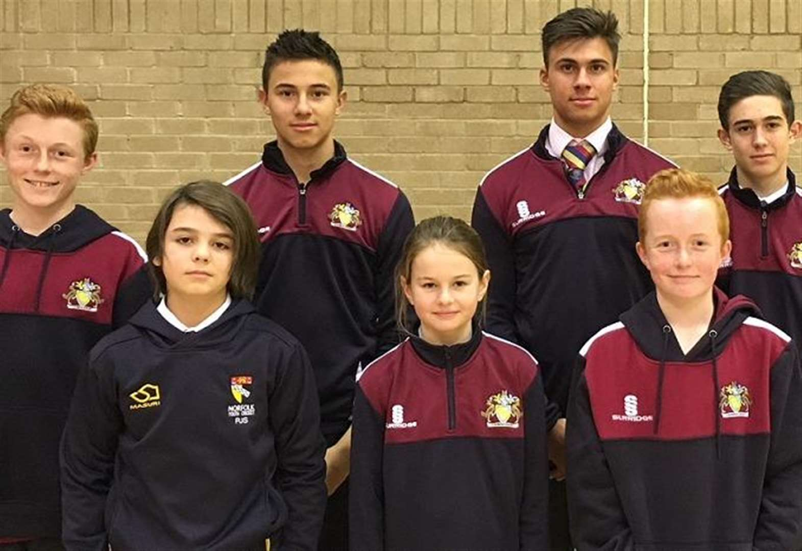 Eight Wisbech Grammar School pupils picked to represent Cambs and Norfolk counties at cricket this season