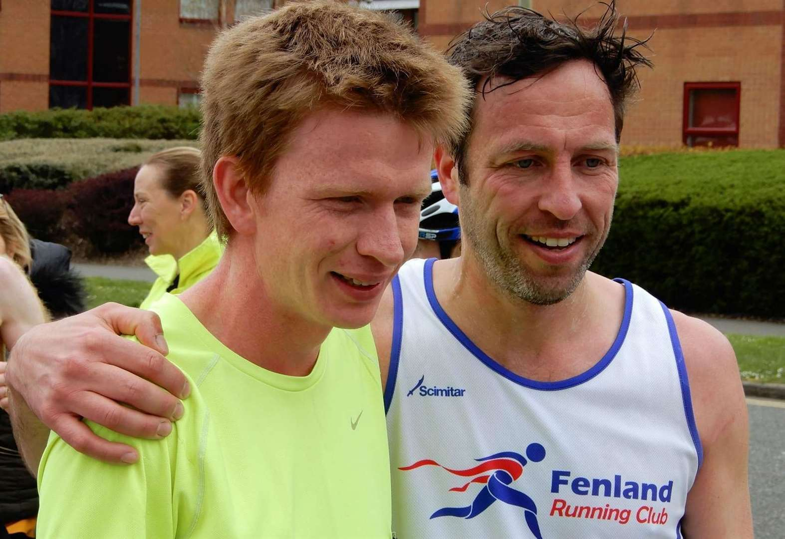 Wisbech Fenland Running Club's Lewis Saunders second in Sublime Racing Peterborough Marathon along River Nene on 26-mile debut