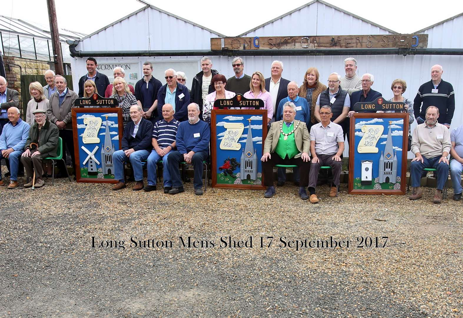 Long Sutton Men's Shed praised for support of cancer patient
