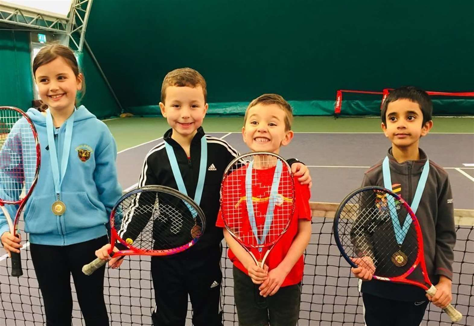 Tennis: Academy youngsters take gold at Peterborough