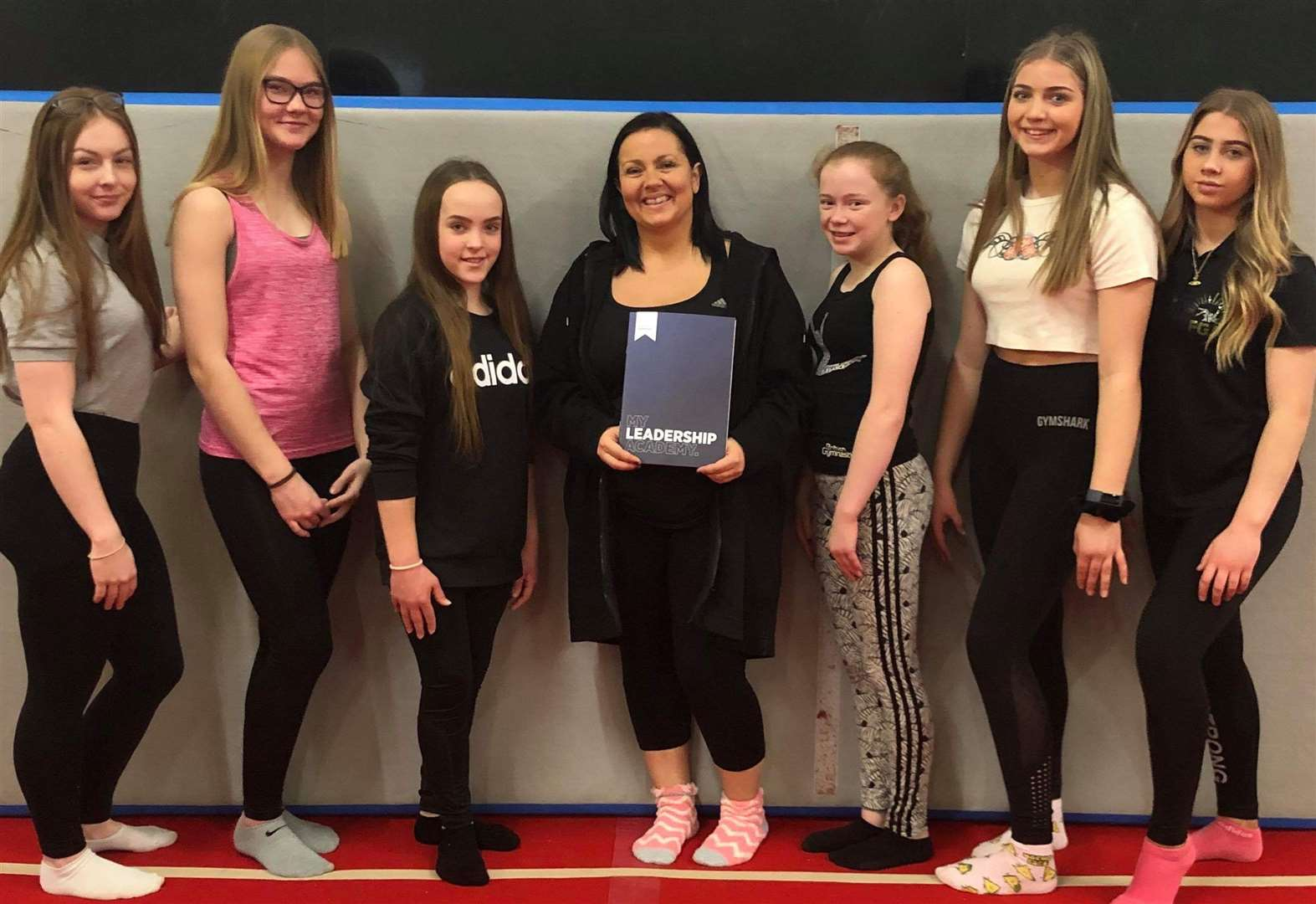 Gymnastics: Academy's first young leaders begin coaching journey