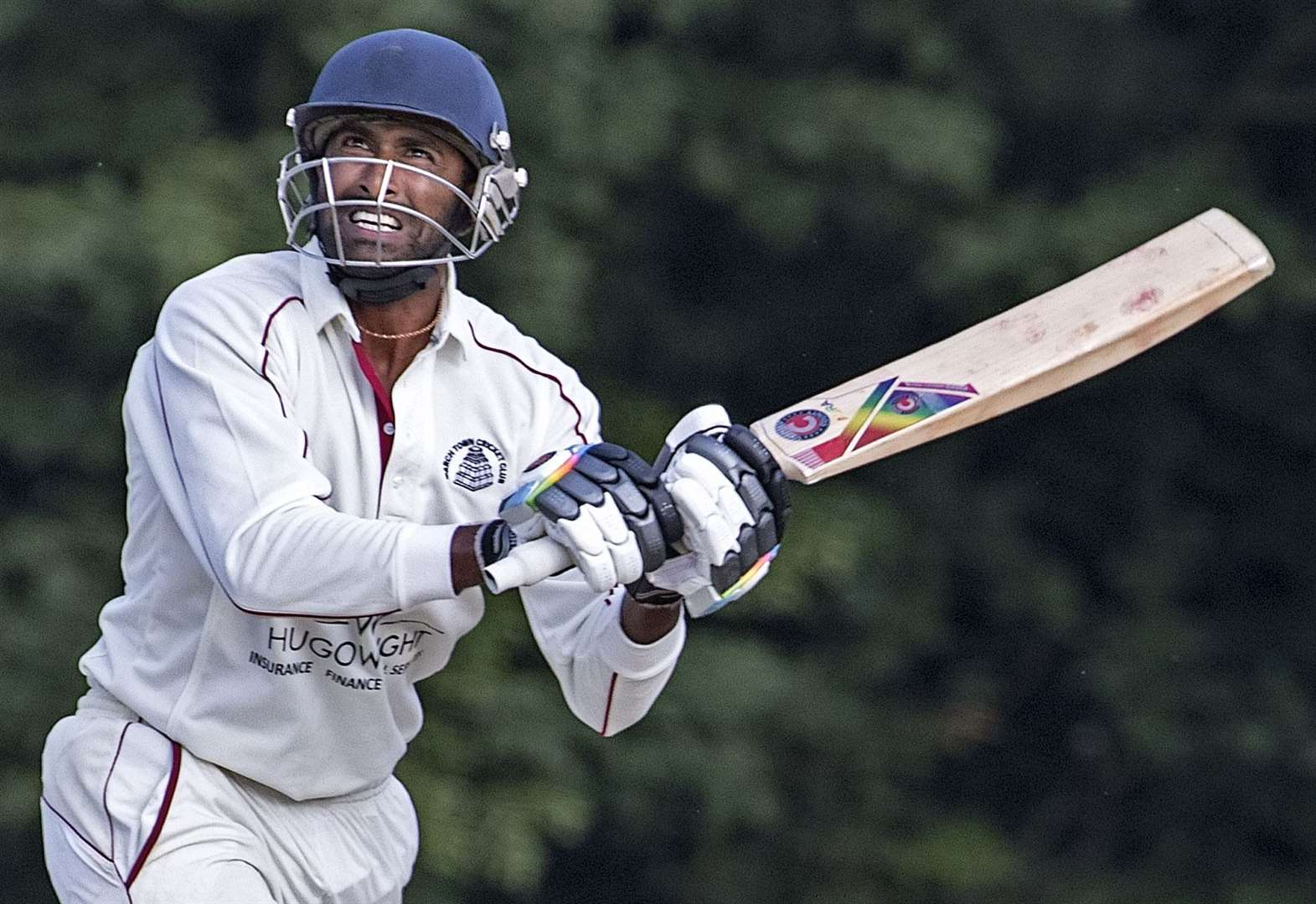 Ton-up March cricketer hits highest league score vs Foxton