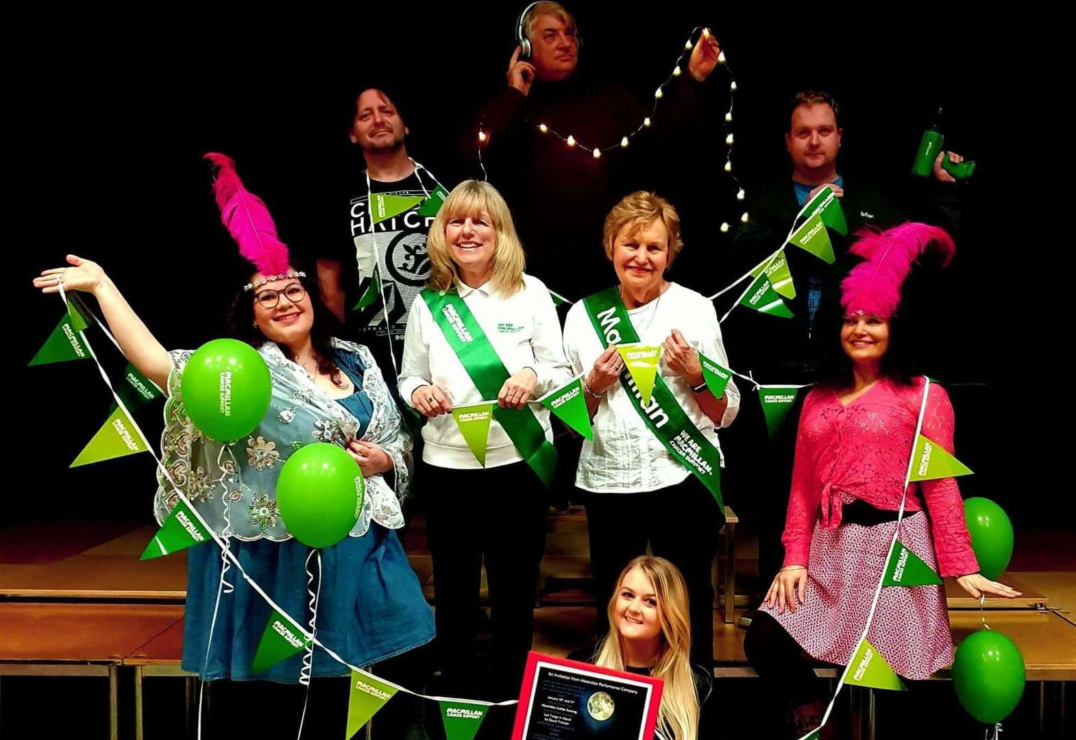 Show held at March Town Hall brings in cash for Macmillan Cancer Support