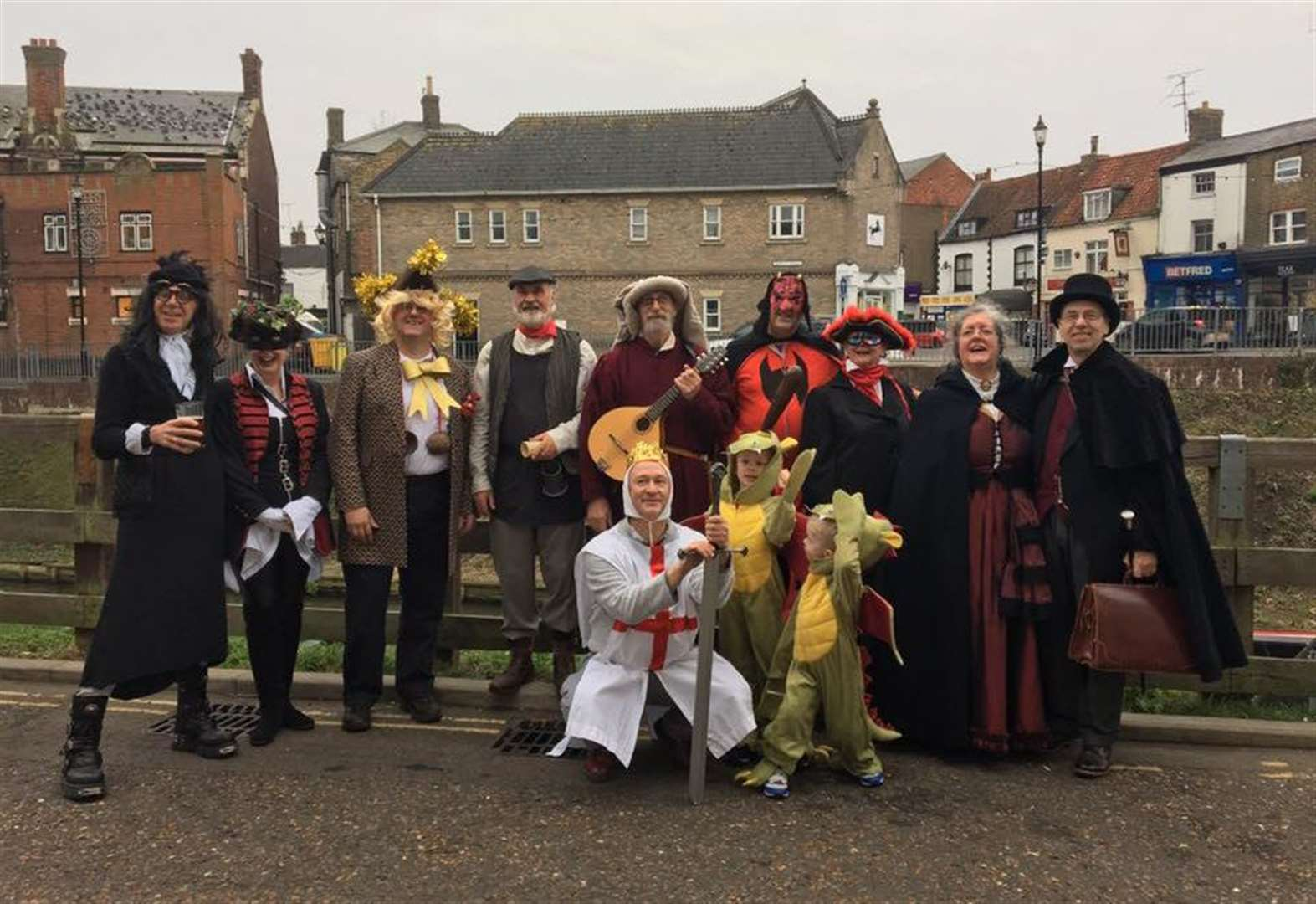 March Mummers are set to perform around the town for their annual Christmas tour