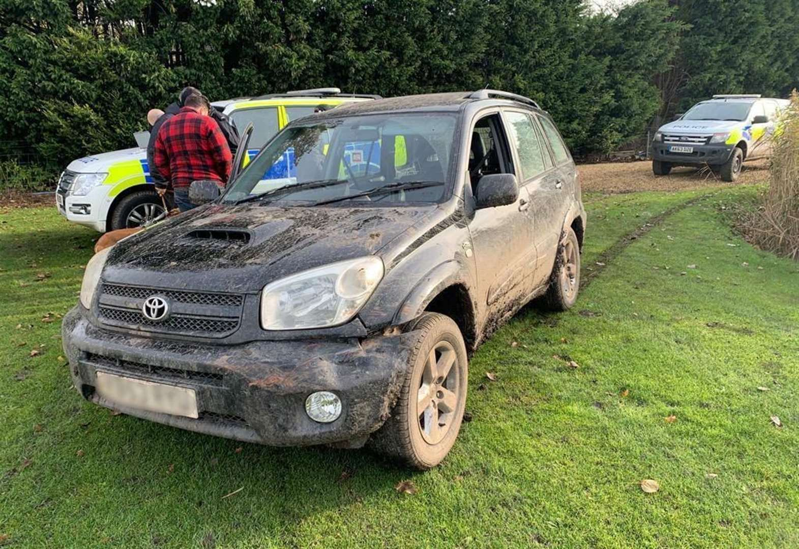 Phones and car seized by Fenland police after chase