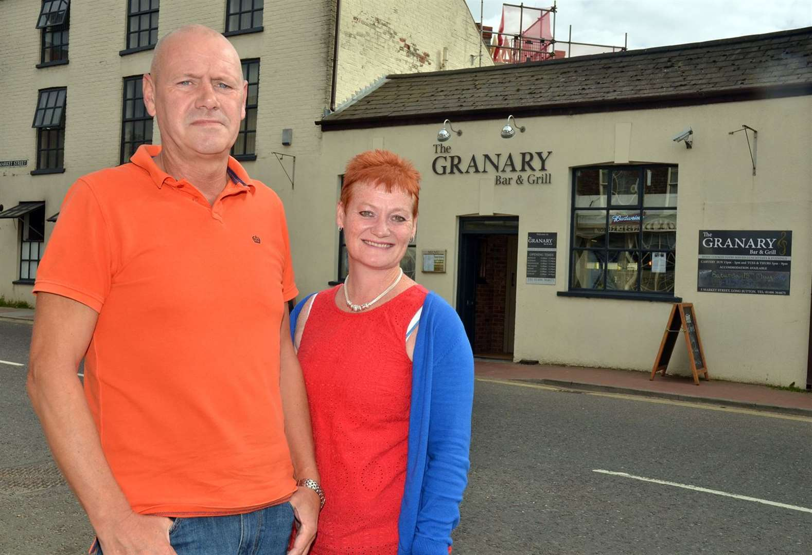 Publicans call time on renovated pub