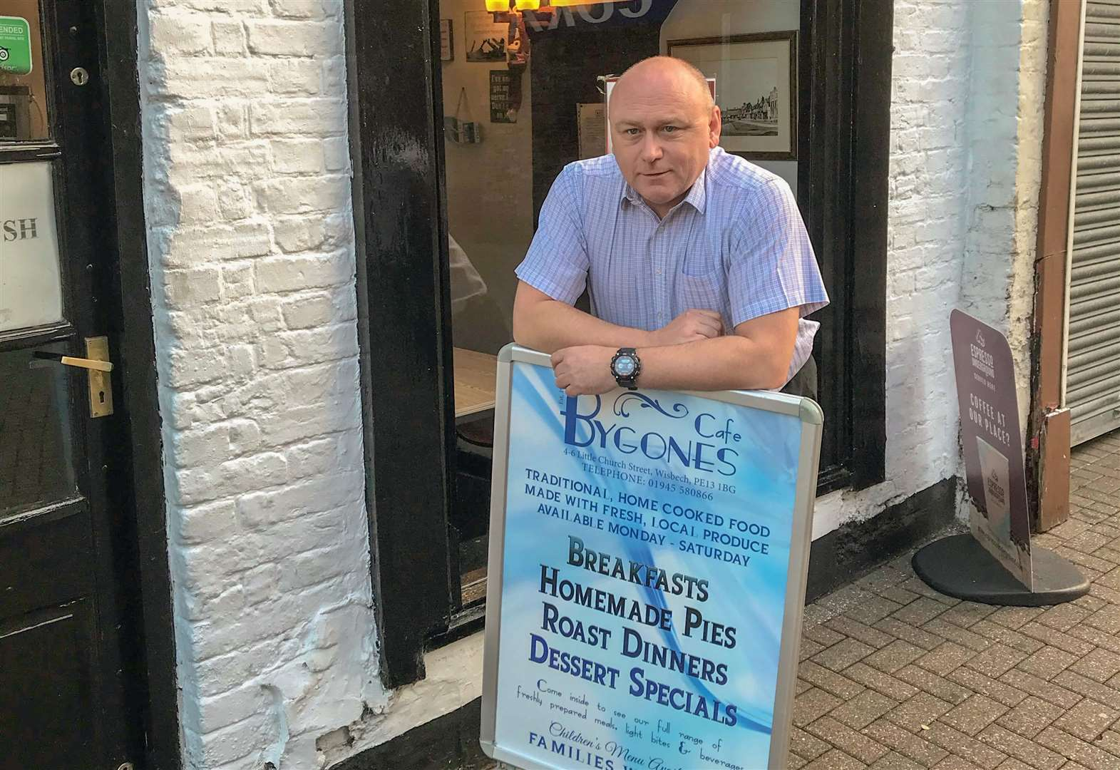 Wisbech councillor and businessman asks fellow traders 'would you pay for tow centre security guard'?