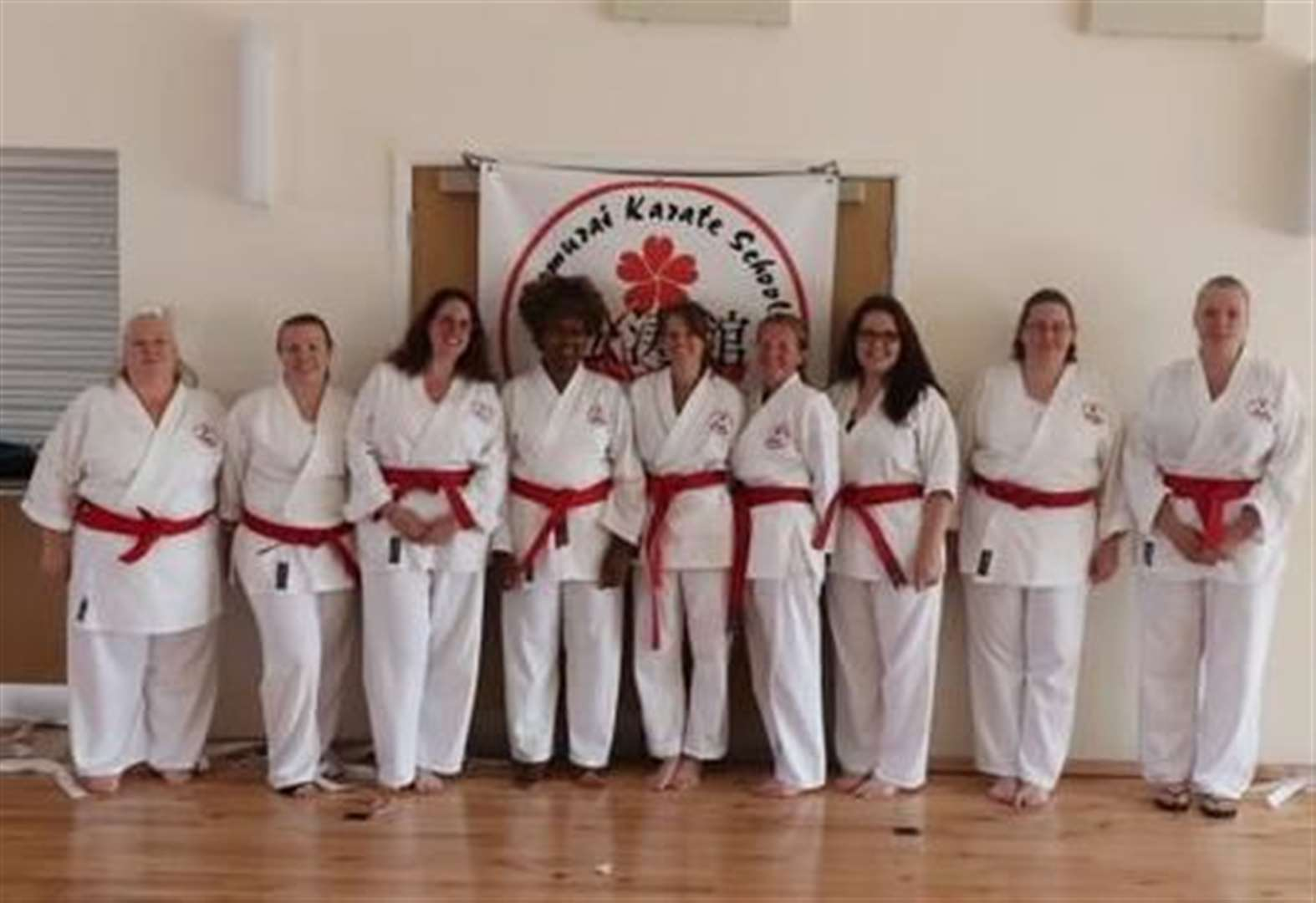 Karate school has biggest number of adults grading first-time