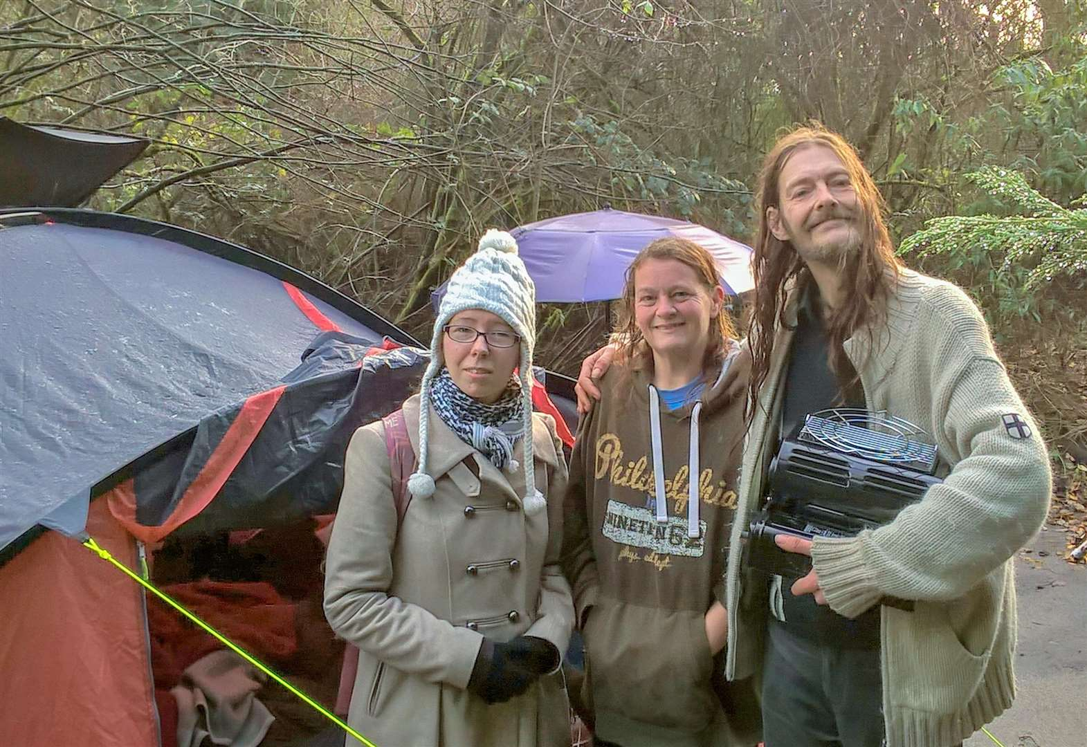 Unite union brings a touch of warmth to Wisbech homeless couple