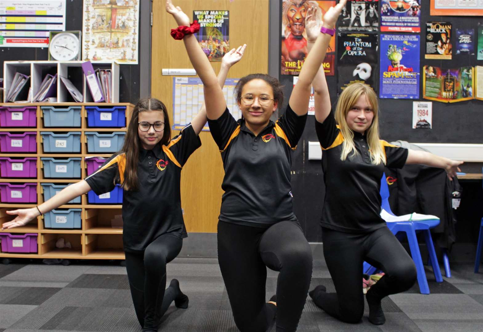 Neale-Wade Academy in March celebrates prestigious Gold Artsmark Award