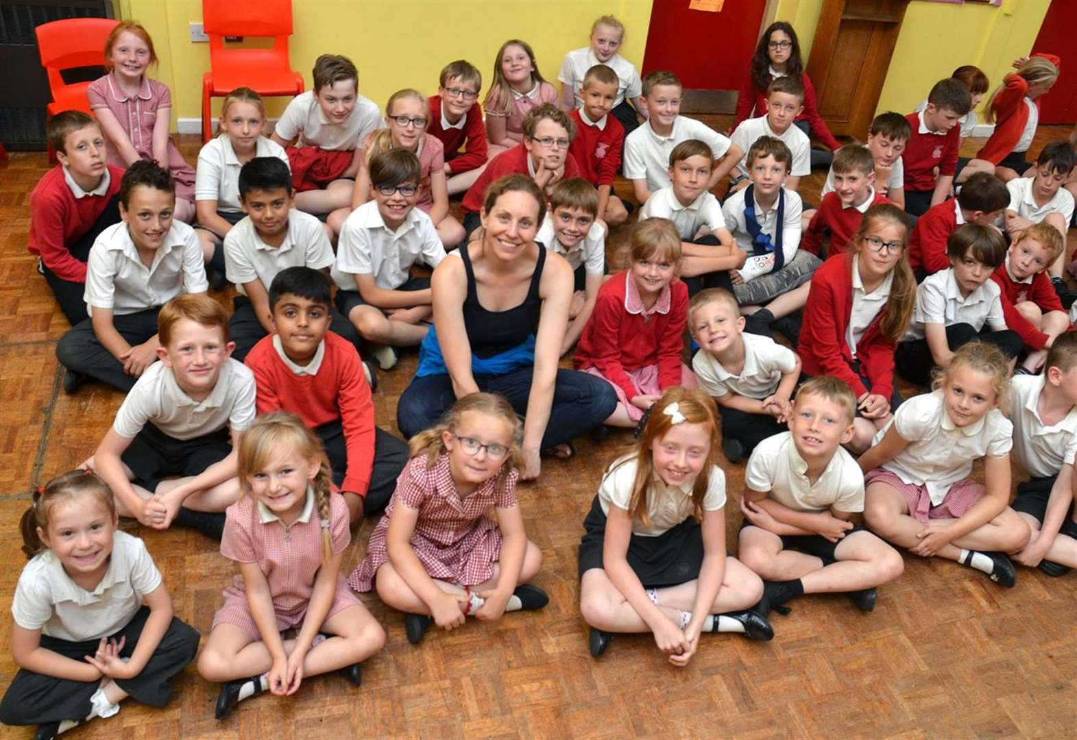 Stories of space at Sutton St James Primary School