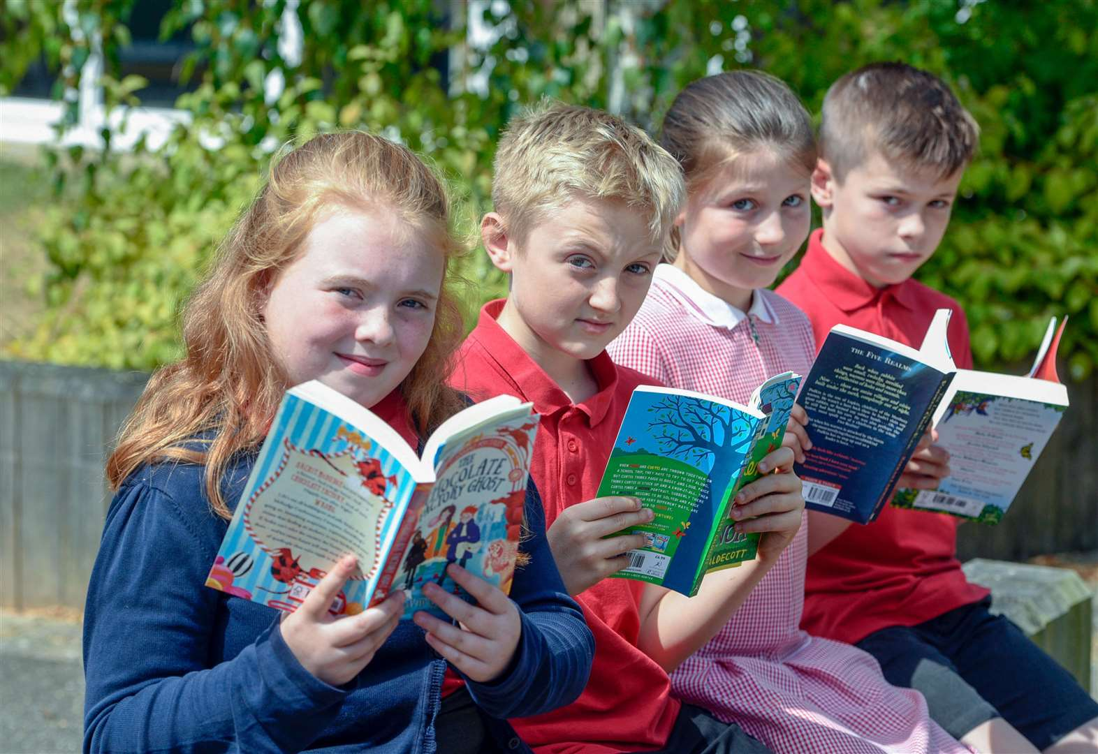 Steve Barclay MP awards prizes for summer reading champions in March, Chatteris and Wisbech