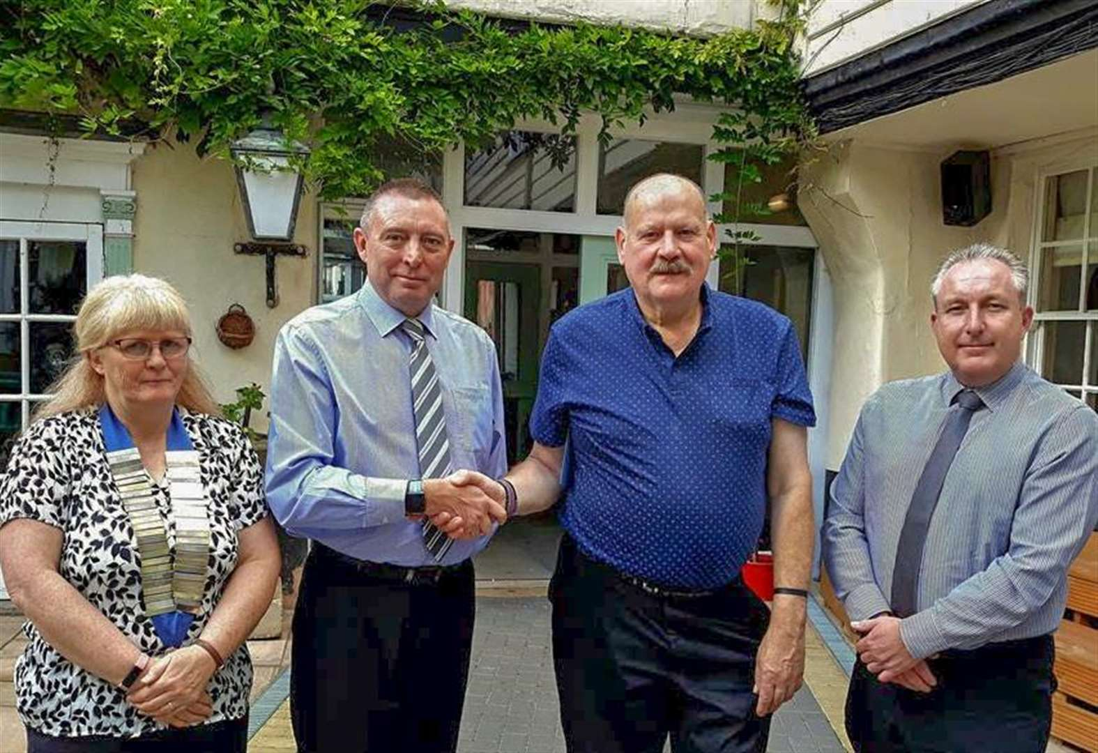 Farewell lunch to say goodbye to popular Wisbech security guard Roger Vanhinsbergh