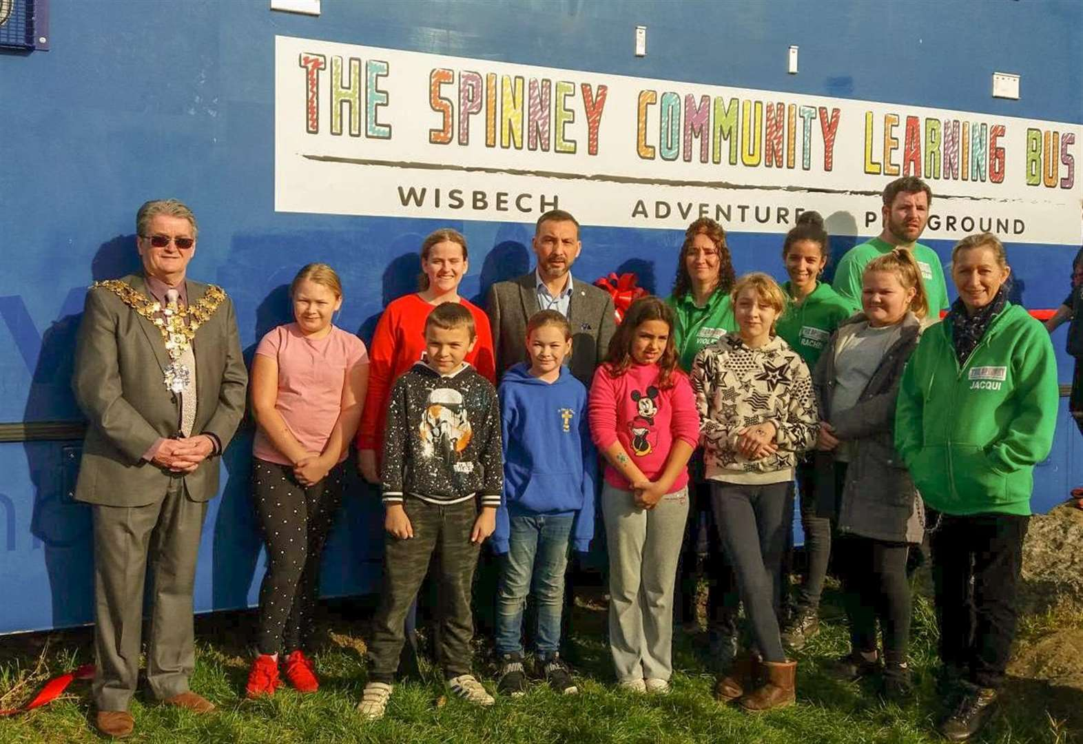 Learning Bus is officially launched at Wisbech playground