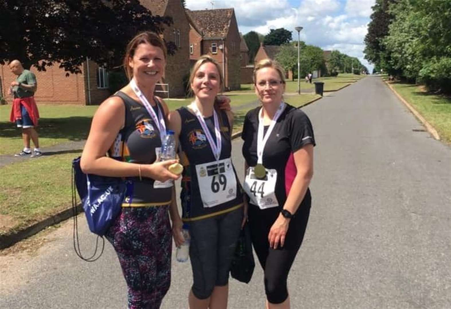 Find out why three's a magic number for Leverington running club