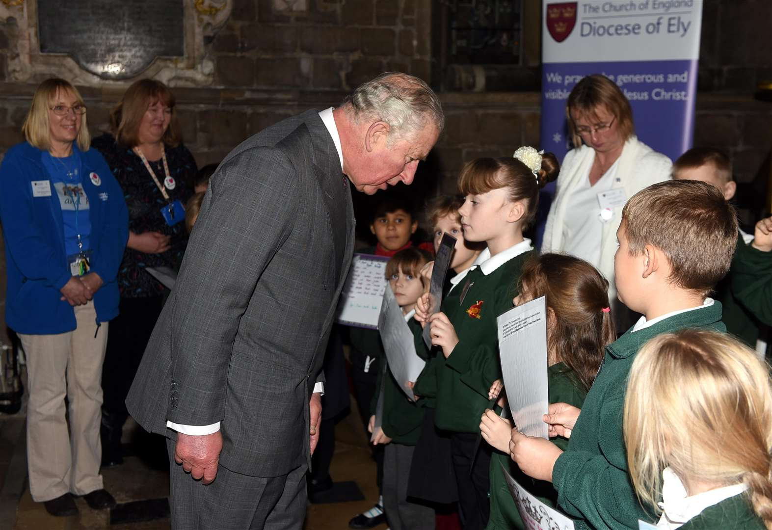 Prince Charles Spent Almost An Hour Longer Than Scheduled Learning About Local Organisations On His Visit
