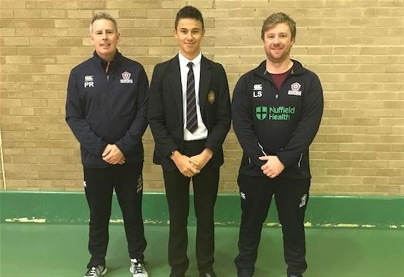 Wisbech Grammar School proud of Year 10 pupil George Gowler accepting place on Emerging Players Programme at Northamptonshire County Cricket Club