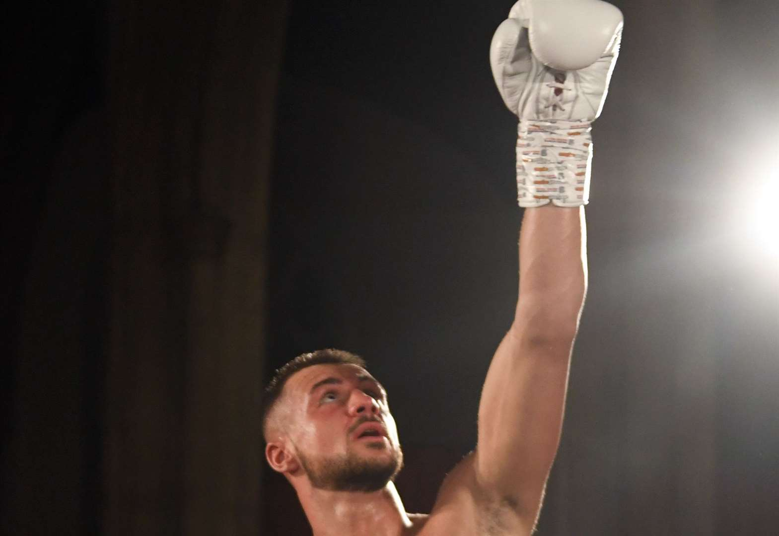 Boxing: Steed returns to ring in style against Latvian
