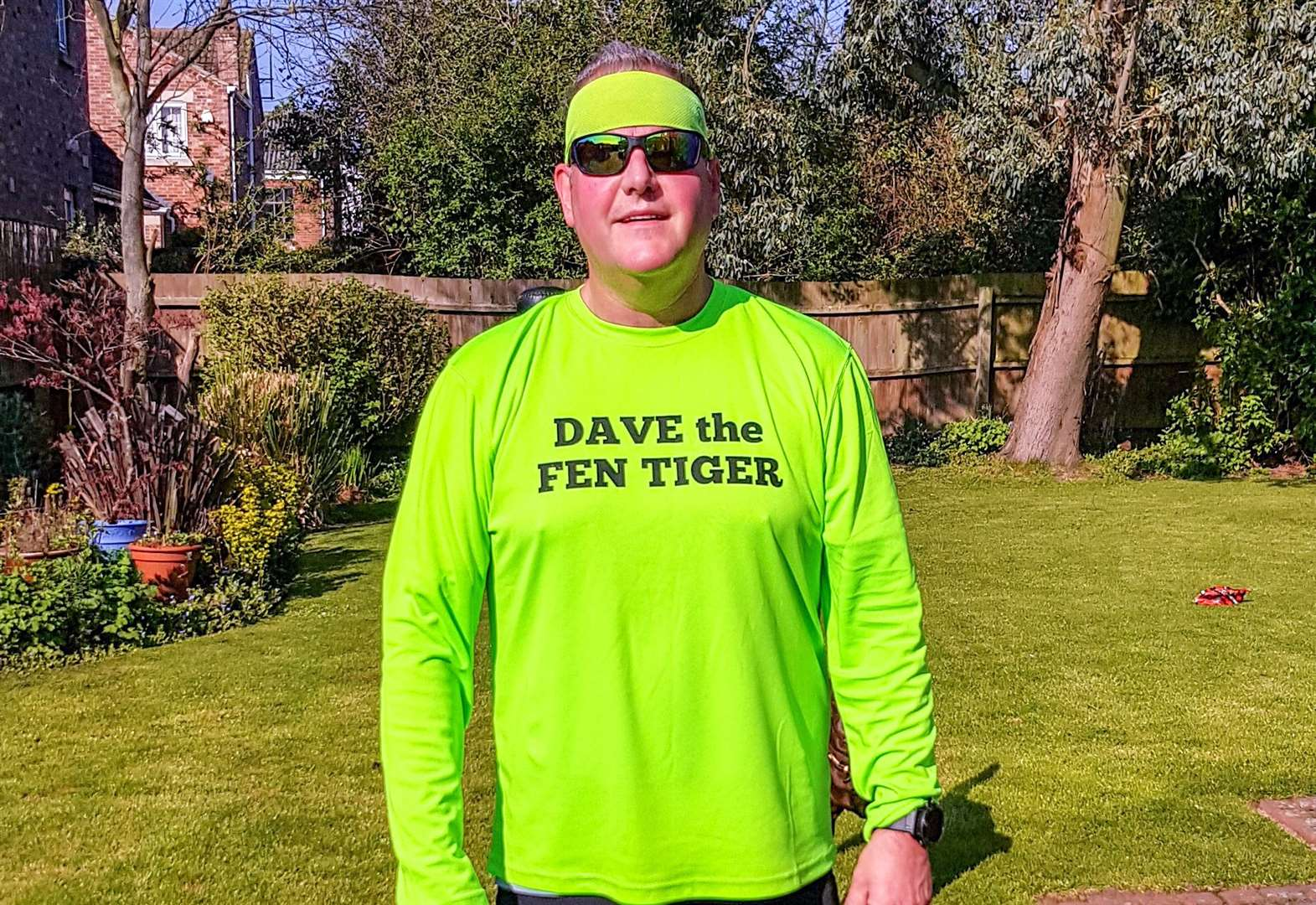 He only started running last year now Wisbech's David Kerridge is set for the London Marathon