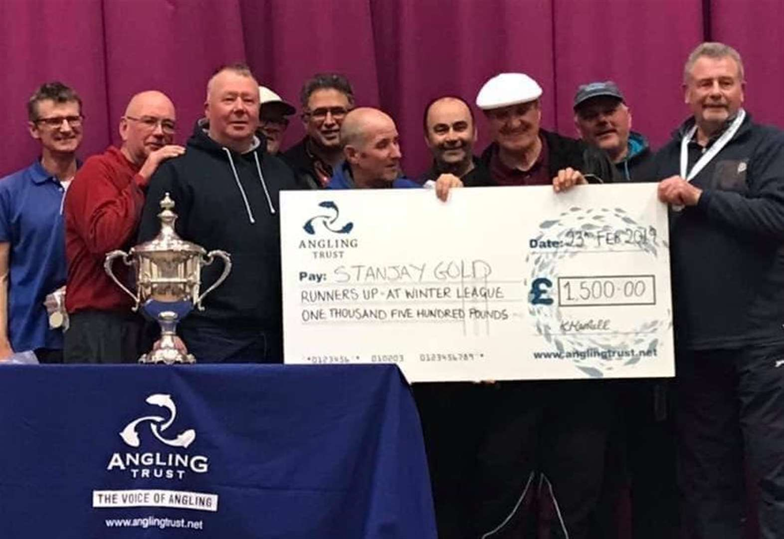 Angling Trust Winter League final on venues such as Eastrea Decoy Lakes and March Twenty Foot