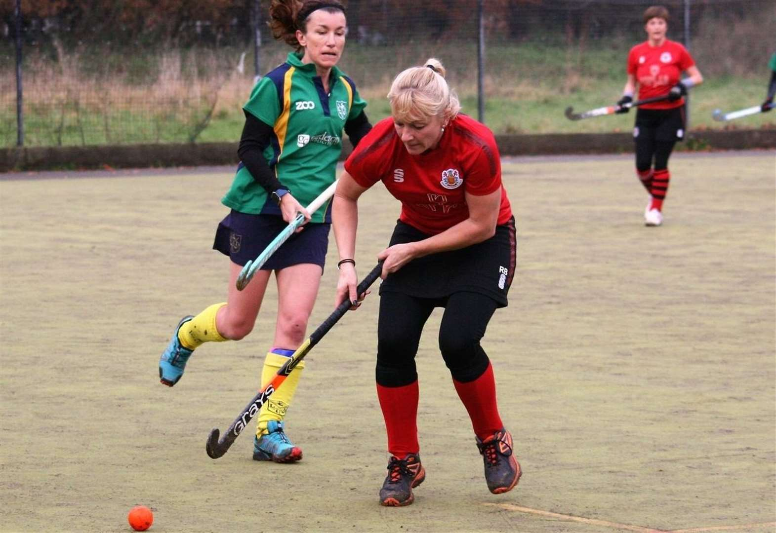 Ladies' hockey: opponents Pegg-ed back by hat-trick