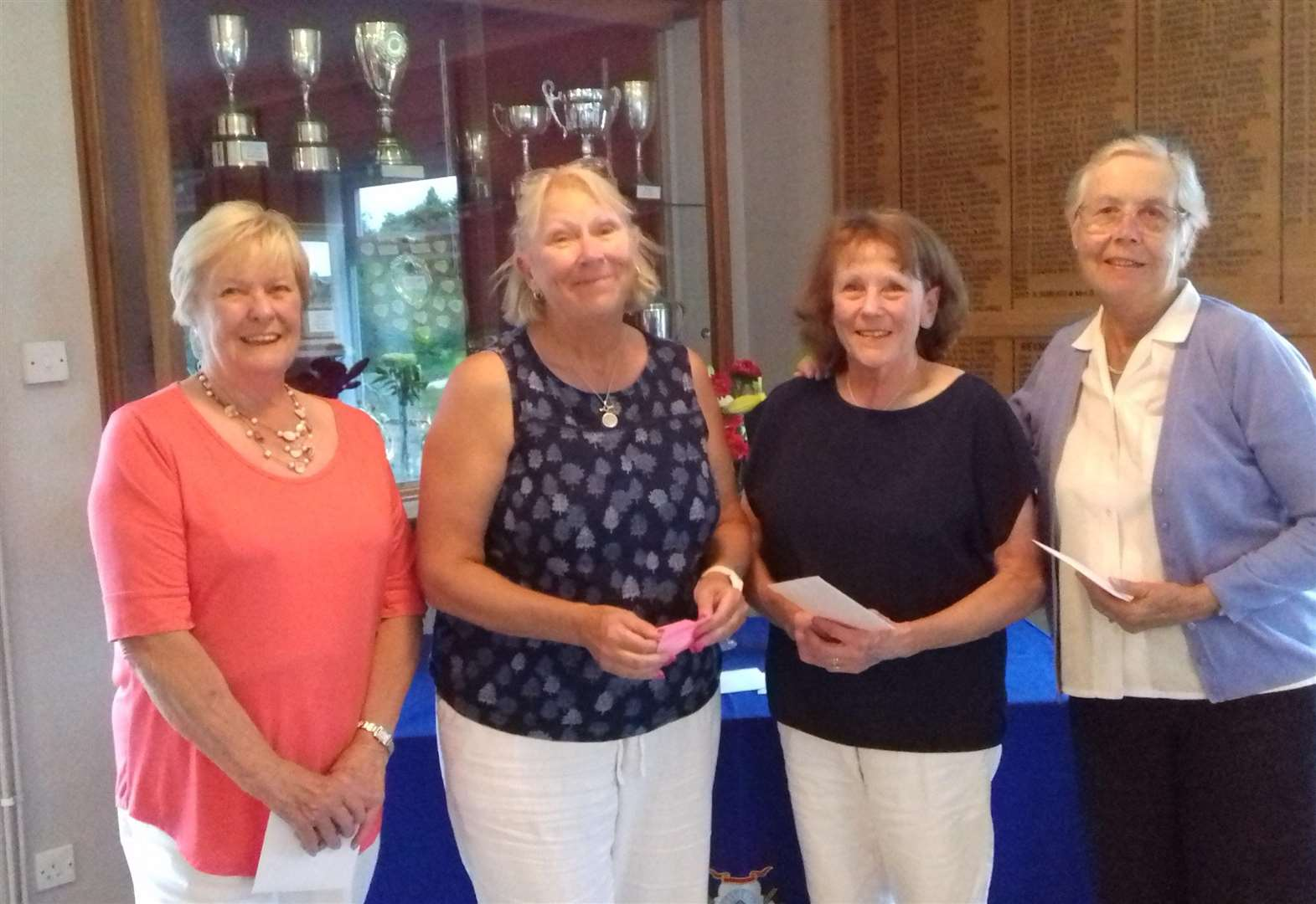 March Golf Club Ladies show Can-do attitude in cup