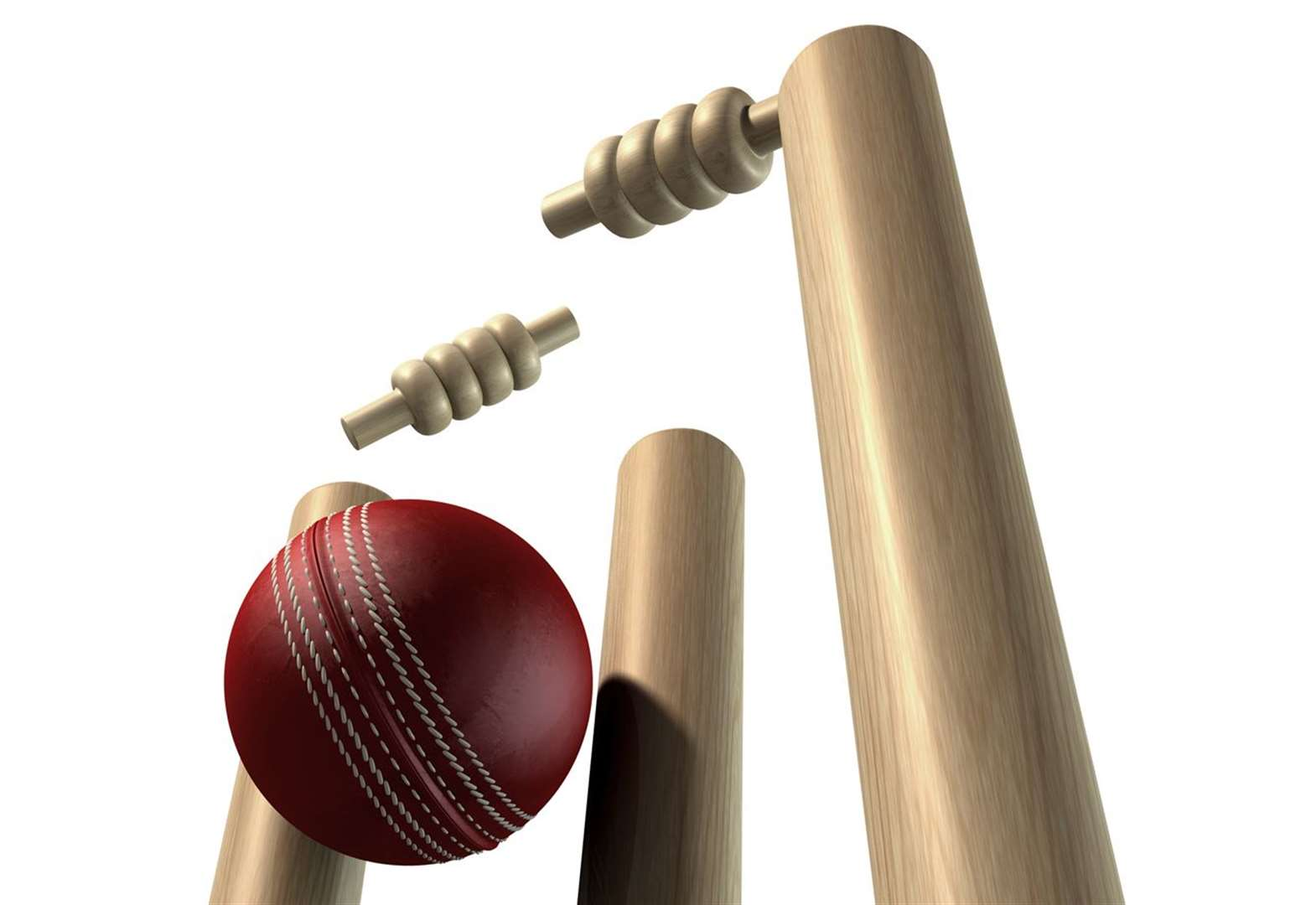 Cricket: Chatteris century rescue act