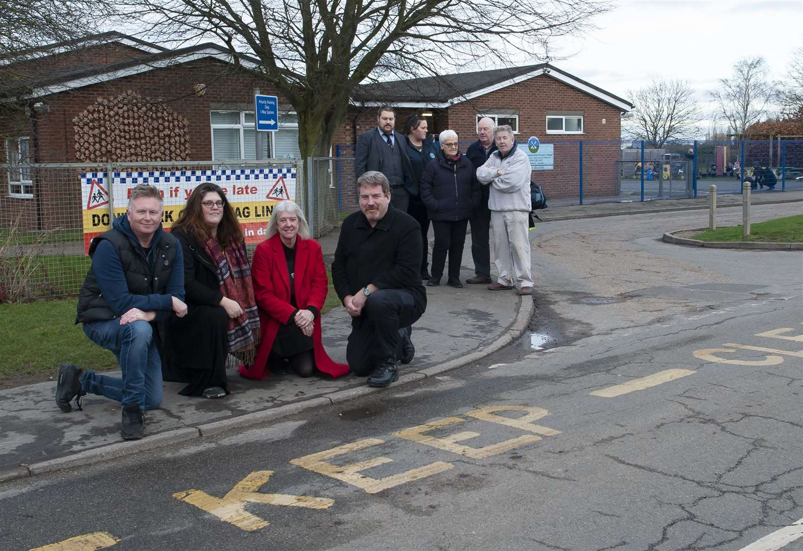 Parents warned over poor parking at West Walton Primary School